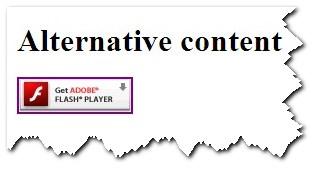 contenuto alternativo