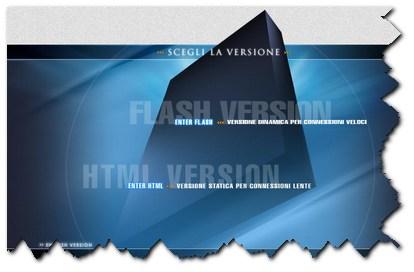 doppia versione html flash